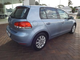 2010 Volkswagen Golf VI MY10 90TSI DSG Trendline Blue 7 Speed Sports Automatic Dual Clutch Hatchback.