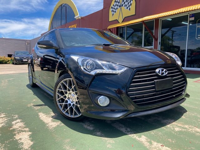 Used Hyundai Veloster FS3 SR Coupe Turbo Toowoomba, 2014 Hyundai Veloster FS3 SR Coupe Turbo 6 Speed Sports Automatic Hatchback