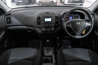 2011 Hyundai i30 FD MY11 SX Black 4 Speed Automatic Hatchback.