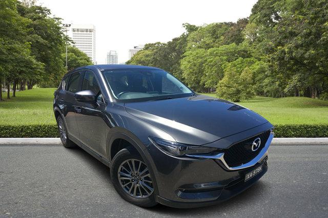 Used Mazda CX-5 KF4WLA Maxx SKYACTIV-Drive i-ACTIV AWD Sport Paradise, 2018 Mazda CX-5 KF4WLA Maxx SKYACTIV-Drive i-ACTIV AWD Sport Grey 6 Speed Sports Automatic Wagon