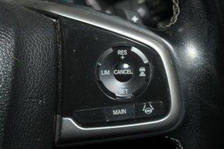 2016 Honda Civic 10th Gen MY16 VTi-LX Red 1 Speed Constant Variable Sedan