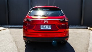 2020 Mazda CX-8 KG2WLA Touring SKYACTIV-Drive FWD Soul Red Crystal 6 Speed Sports Automatic Wagon