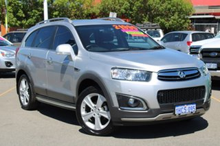 2014 Holden Captiva CG MY14 7 AWD LTZ Silver 6 Speed Sports Automatic Wagon.