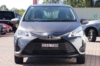2019 Toyota Yaris NCP130R Ascent Grey Metallic 4 Speed Automatic Hatchback