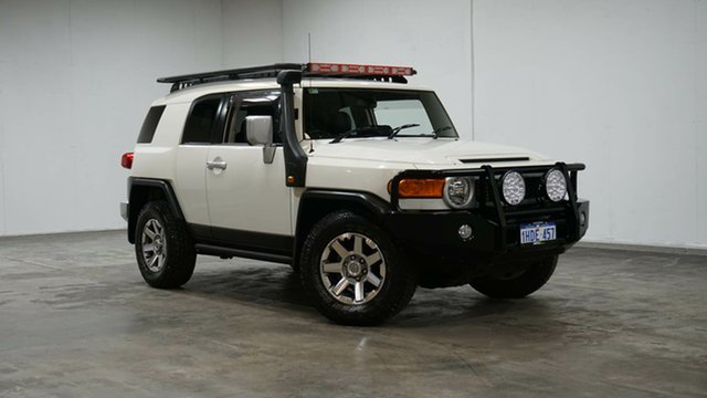 Used Toyota FJ Cruiser GSJ15R MY14 Welshpool, 2016 Toyota FJ Cruiser GSJ15R MY14 White 5 Speed Automatic Wagon