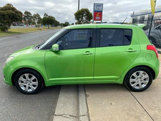 2010 Suzuki Swift RS415 RE4 Green 4 Speed Automatic Hatchback
