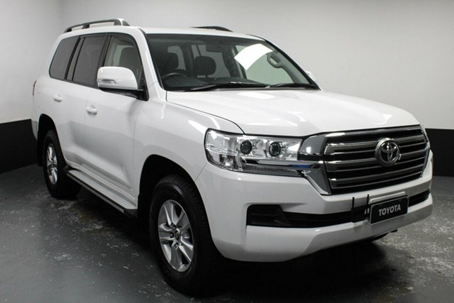 Used Toyota Landcruiser VDJ200R GXL Cardiff, 2017 Toyota Landcruiser VDJ200R GXL White 6 Speed Sports Automatic Wagon