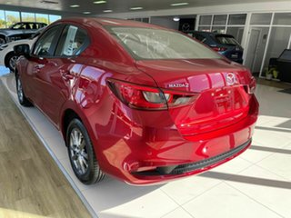 2020 Mazda 2 G15 Pure Red 6 Speed Automatic Sedan