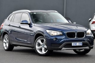 2013 BMW X1 E84 LCI xDrive20d Steptronic AWD Blue 8 Speed Sports Automatic Wagon.