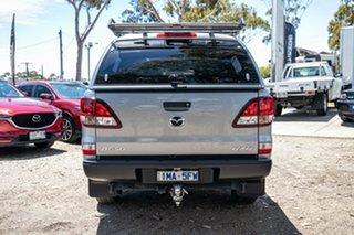 2018 Mazda BT-50 UR0YG1 XT Silver 6 Speed Sports Automatic Utility