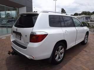 2008 Toyota Kluger KX-S Kluger White Automatic Wagon.