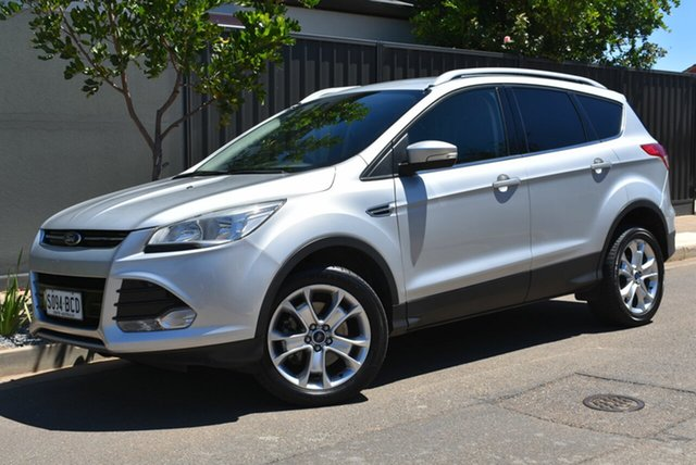 Used Ford Kuga TF Trend AWD Brighton, 2013 Ford Kuga TF Trend AWD Silver 6 Speed Sports Automatic Wagon