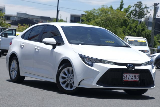 Pre-Owned Toyota Corolla Mzea12R Ascent Sport Upper Mount Gravatt, 2019 Toyota Corolla Mzea12R Ascent Sport Glacier White 10 Speed Constant Variable Sedan