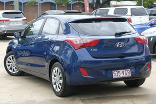 2014 Hyundai i30 GD2 Active Blue 6 Speed Sports Automatic Hatchback.