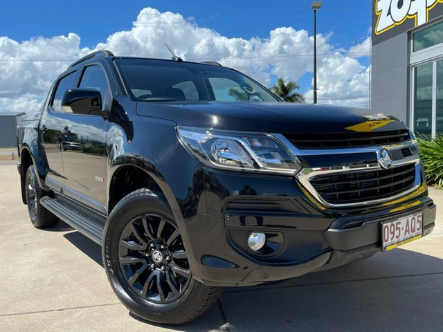 Used Holden Colorado RG MY19 Z71 Pickup Crew Cab Townsville, 2019 Holden Colorado RG MY19 Z71 Pickup Crew Cab Black 6 Speed Sports Automatic Utility