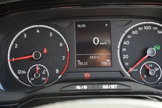2018 Volkswagen Polo AW MY18 70TSI DSG Trendline Black 7 Speed Sports Automatic Dual Clutch