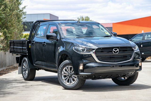 New Mazda BT-50 TFS40J XT Mornington, 2020 Mazda BT-50 TFS40J XT True Black 6 Speed Manual Cab Chassis