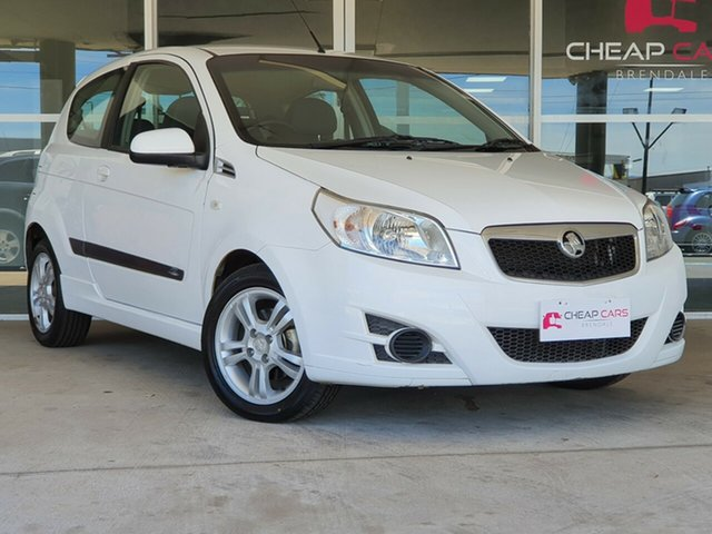 Used Holden Barina TK MY10 Brendale, 2010 Holden Barina TK MY10 White 5 Speed Manual Hatchback