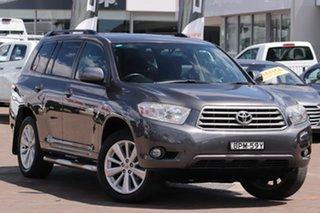 2010 Toyota Kluger GSU40R KX-R 2WD Grey 5 Speed Sports Automatic SUV.