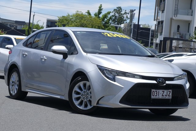 Pre-Owned Toyota Corolla Mzea12R Ascent Sport Upper Mount Gravatt, 2019 Toyota Corolla Mzea12R Ascent Sport Premium Silver 10 Speed Constant Variable Sedan