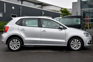 2015 Volkswagen Polo 6R MY15 81TSI DSG Comfortline Silver 7 Speed Sports Automatic Dual Clutch.