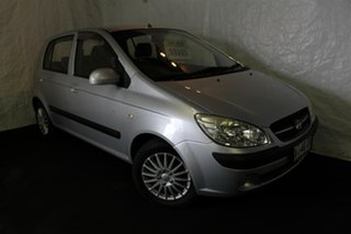 2008 Hyundai Getz TB MY09 SX Space Silver 4 Speed Automatic Hatchback.