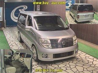 2005 Nissan Elgrand E51 XL Silver Automatic Wagon