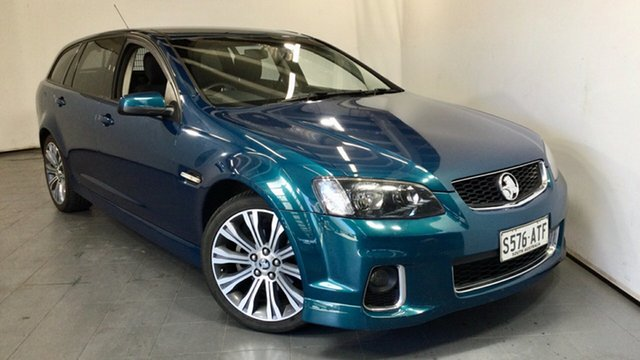 Used Holden Commodore VE II MY12 SV6 Sportwagon Elizabeth, 2012 Holden Commodore VE II MY12 SV6 Sportwagon Blue 6 Speed Sports Automatic Wagon