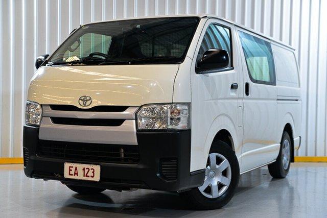 Used Toyota HiAce KDH201R MY15 LWB Hendra, 2015 Toyota HiAce KDH201R MY15 LWB White 4 Speed Automatic Van