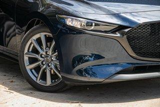 2020 Mazda 3 BP2HLA G25 SKYACTIV-Drive GT Deep Crystal Blue 6 Speed Sports Automatic Hatchback.