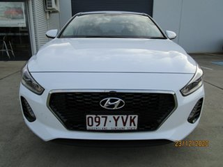 2018 Hyundai i30 PD MY19 Go White 6 Speed Sports Automatic Hatchback.