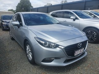 2017 Mazda 3 BN5278 Neo SKYACTIV-Drive Silver 6 Speed Sports Automatic Sedan.
