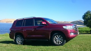 2011 Toyota Landcruiser VDJ200R 09 Upgrade GXL (4x4) Burgundy 6 Speed Automatic Wagon.