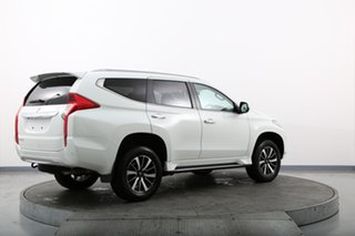 2019 Mitsubishi Pajero Sport QE MY19 Exceed (4x4) 7 Seat White 8 Speed Automatic Wagon
