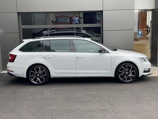 2020 Skoda Octavia NE MY20.5 Sport DSG 110TSI White 7 Speed Sports Automatic Dual Clutch Wagon