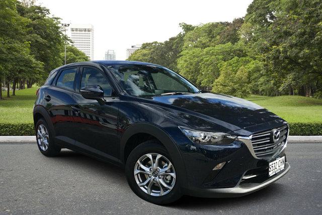 Demo Mazda CX-3 DK2W7A Maxx SKYACTIV-Drive FWD Sport Paradise, 2020 Mazda CX-3 DK2W7A Maxx SKYACTIV-Drive FWD Sport Deep Crystal Blue 6 Speed Sports Automatic