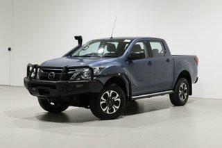 2016 Mazda BT-50 MY16 XT (4x4) Blue 6 Speed Automatic Dual Cab Utility.