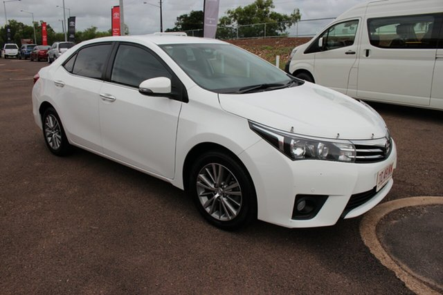 Pre-Owned Toyota Corolla ZRE172R SX S-CVT Darwin, 2016 Toyota Corolla ZRE172R SX S-CVT Glacier White 7 Speed Constant Variable Sedan