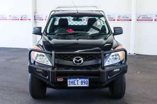 2012 Mazda BT-50 XT (4x4) Black 6 Speed Manual Freestyle Cab Chassis