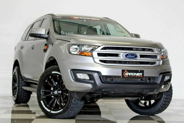Used Ford Everest UA II MY19 Ambiente (RWD 5 Seat) Burleigh Heads, 2018 Ford Everest UA II MY19 Ambiente (RWD 5 Seat) Grey 6 Speed Automatic SUV