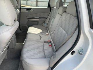 2008 Subaru Forester S3 MY09 XS AWD White 5 Speed Manual Wagon