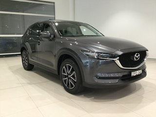 2017 Mazda CX-5 KF4WLA GT SKYACTIV-Drive i-ACTIV AWD Grey 6 Speed Sports Automatic Wagon.