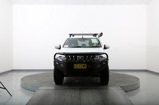 2018 Mitsubishi Triton MQ MY18 Exceed (4x4) White 5 Speed Automatic Dual Cab Utility