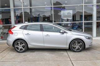 2016 Volvo V40 M Series MY16 D2 Adap Geartronic Kinetic Silver 6 Speed Sports Automatic Hatchback.