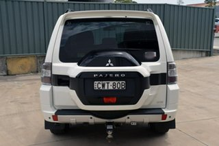 2015 Mitsubishi Pajero NX MY15 GLS White 5 Speed Sports Automatic Wagon