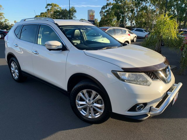 Used Nissan X-Trail T32 ST-L X-tronic 2WD Bunbury, 2015 Nissan X-Trail T32 ST-L X-tronic 2WD Pearl White 7 Speed Constant Variable Wagon