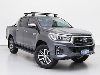 2019 Toyota Hilux GUN126R MY19 SR5 (4x4) Graphite 6 Speed Automatic Double Cab Pick Up.