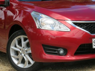 2013 Nissan Pulsar C12 ST-S Red 6 Speed Manual Hatchback.