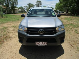 2020 Toyota Hilux TGN121R Workmate 4x2 Silver Sky 6 Speed Sports Automatic Cab Chassis