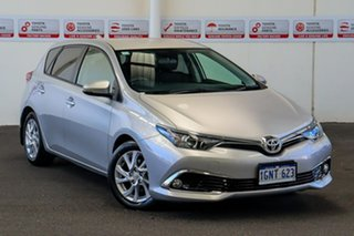 2016 Toyota Corolla ZRE182R MY15 Ascent Sport Silver Pearl 7 Speed CVT Auto Sequential Hatchback.